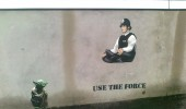 Use The Force - Street art by JPS