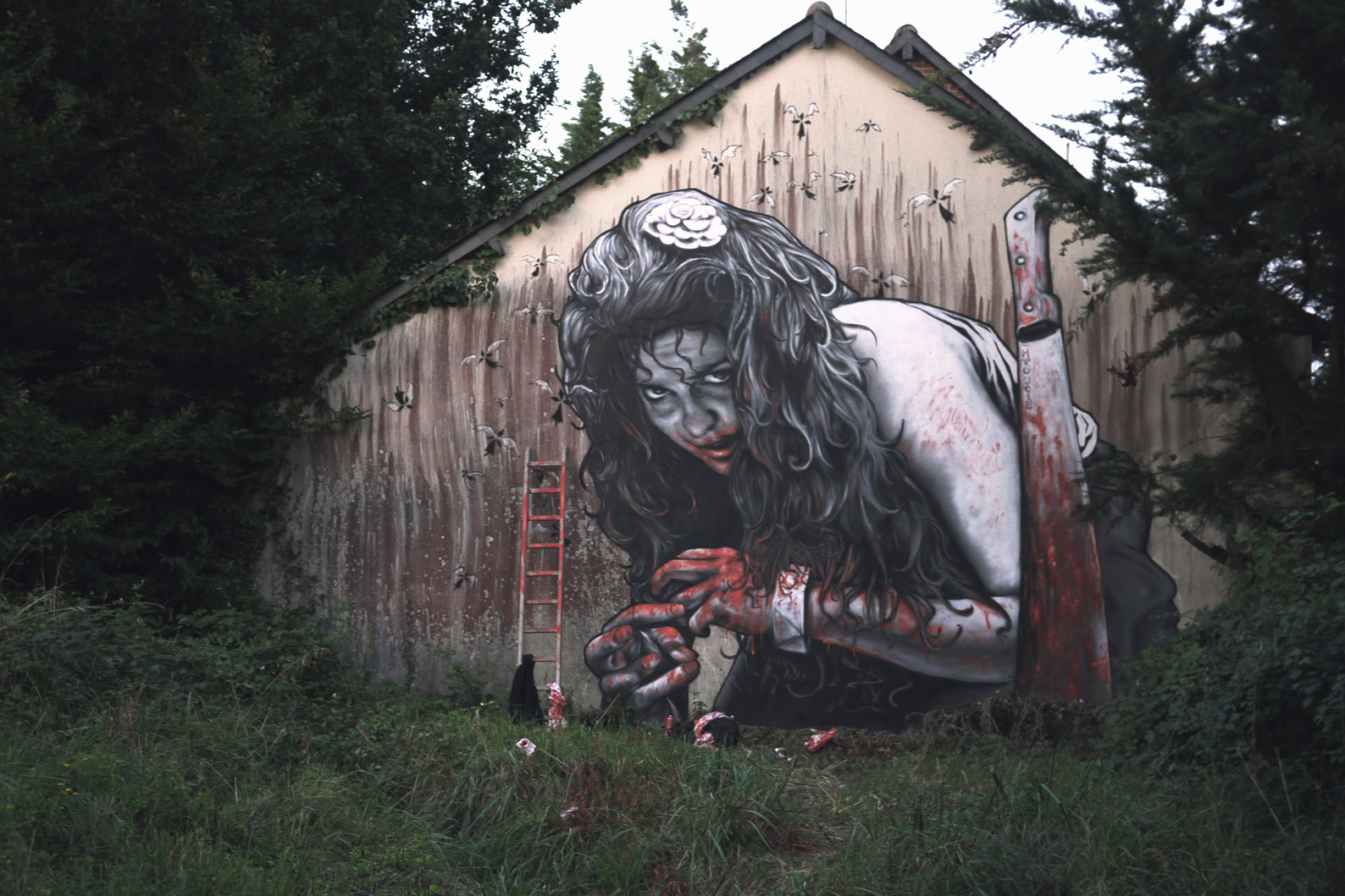 3d street art by mto in rennes france 2