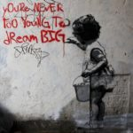 In London, England, UK, youre_never_too_young_to_dream_big