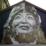 Street Art by Vhils iIn Shanghai, China 2