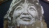 Street Art by Vhils iIn Shanghai, China 2