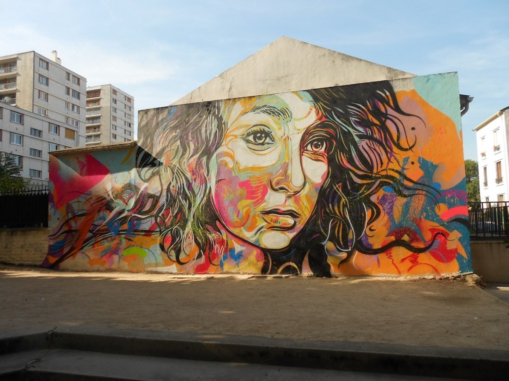Street art utopia we declare the world as our canvas for Christian mural