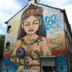Street Art in Slotermeer-Noordoost, Amsterdam, Netherlands