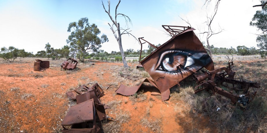 10 Street Art by Eoin 'Retain' Location Undisclosed Australia