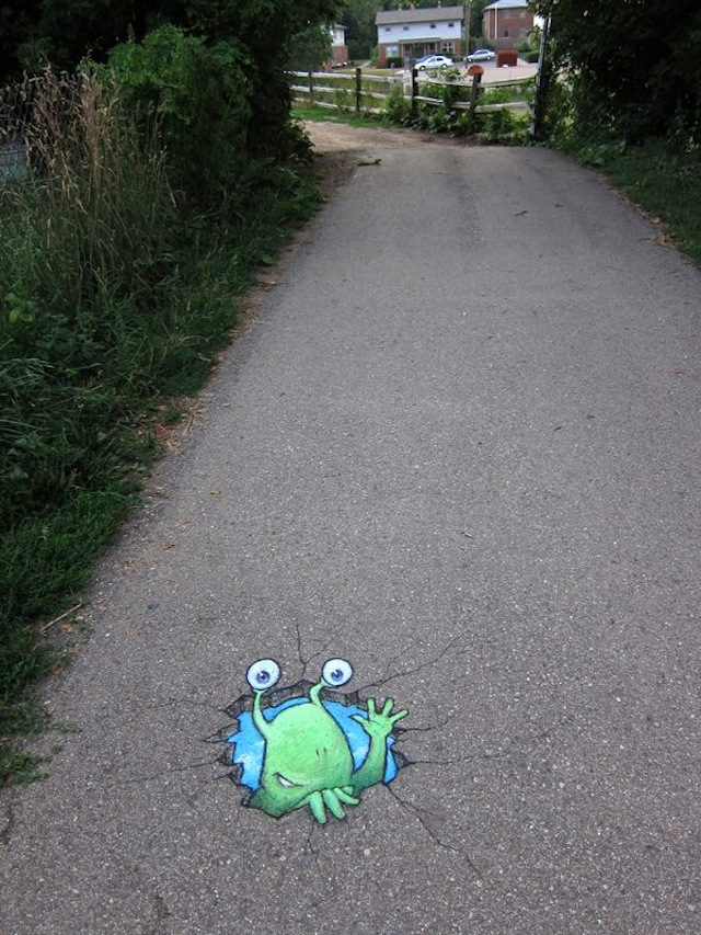 Calk Art by David Zinn 11