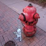 Calk Art by David Zinn 16