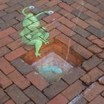 Calk Art by David Zinn 19