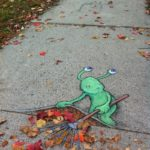 Calk Art by David Zinn 2