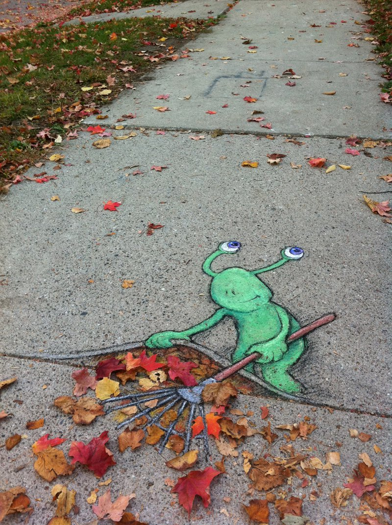 Chalk Art by David Zinn - A Collection