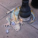 Calk Art by David Zinn 27