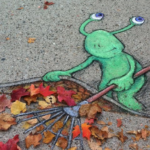 Calk Art by David Zinn ptoto for link