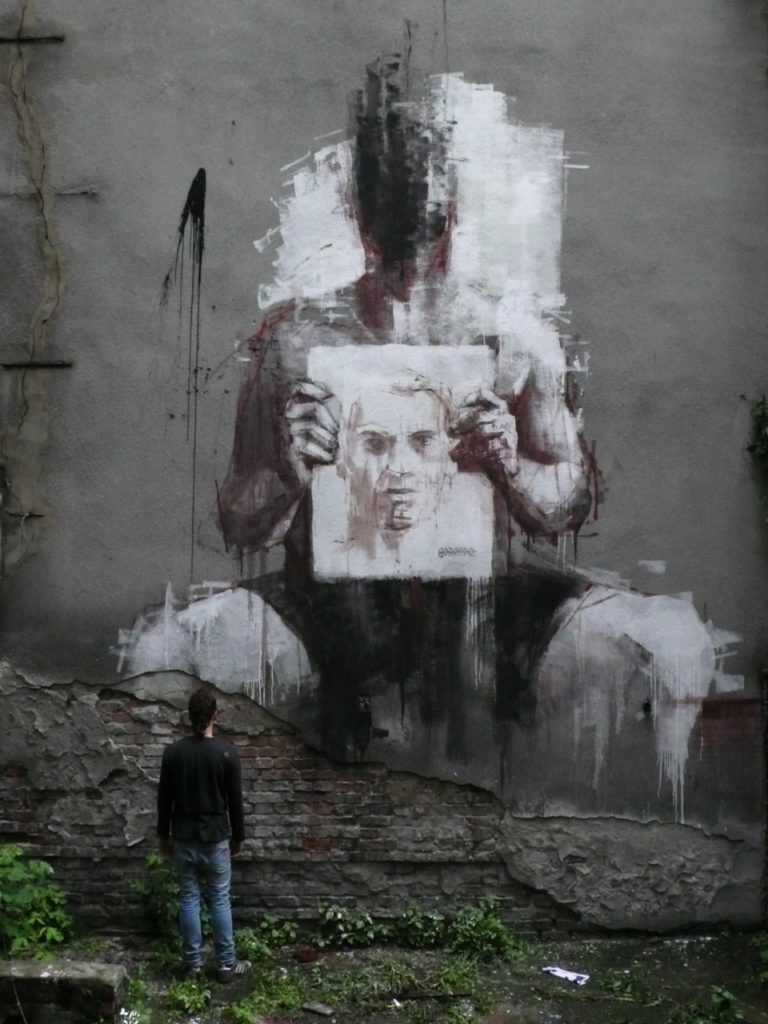 Street Art by Borondo from Spain 3