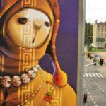 Street Art by INTI in Lodz, Poland 2 mini