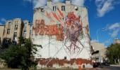 Street Art by LUMP in Lodz, Poland 1