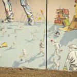 Street Art by NAS and DEL at DESORDES CREATIVAS 2012 3