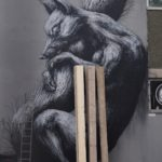 Street Art by ROA in Bristol, UK