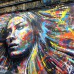 Street Art by David Walker in London England 2