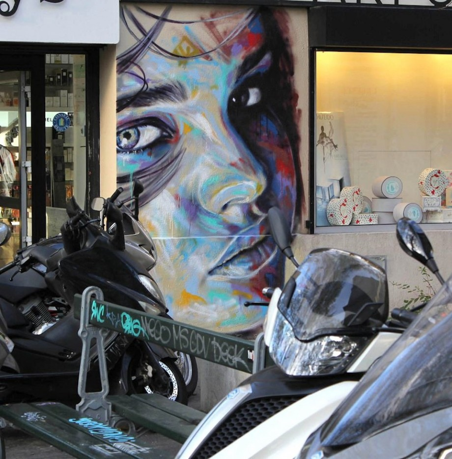 Street Art by David Walker in London England 3