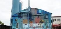 Street Art by Etnik in Pisa, Italy