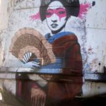 Street Art by Fin DAC at The Black Duke in North Wales, England 1