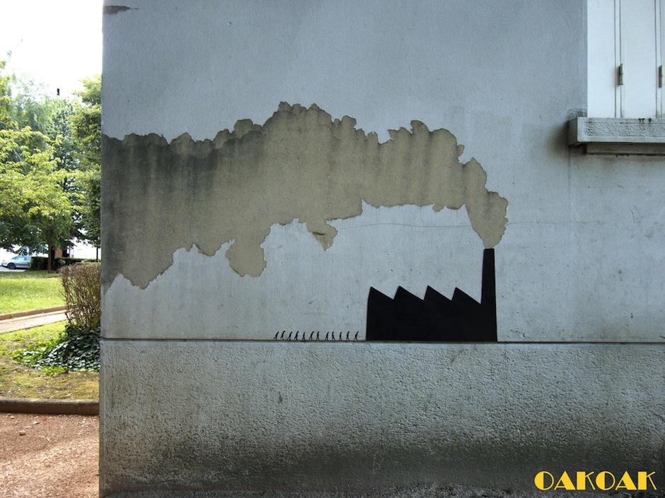 Street Art by Oakoak 4892