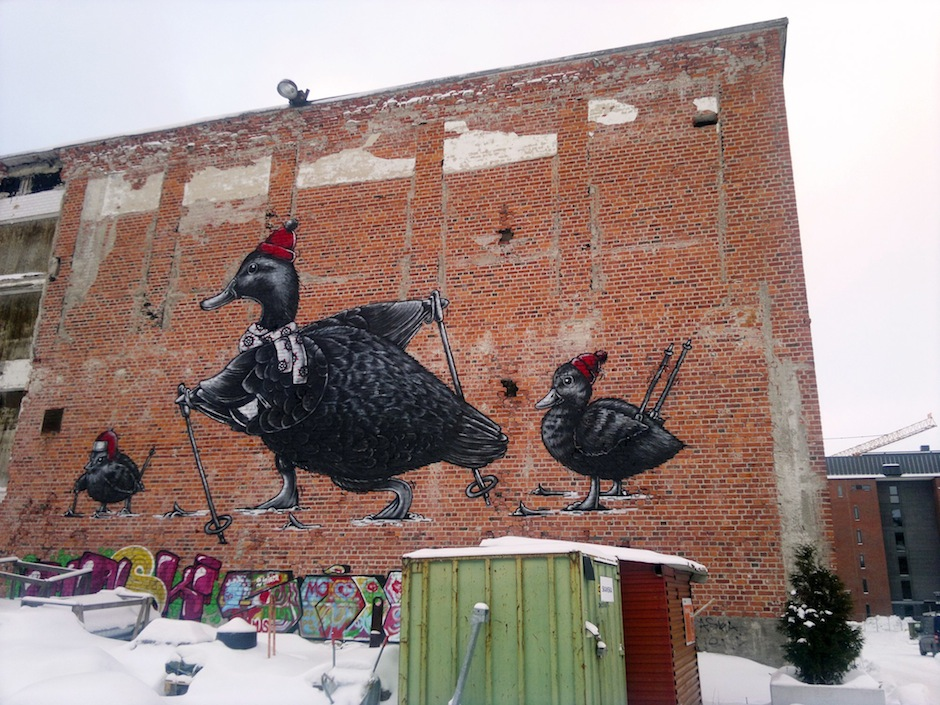 Street Art in Lahti, Finland