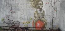 Street Art in Pripyat, Ukraine. Close to Chernobyl