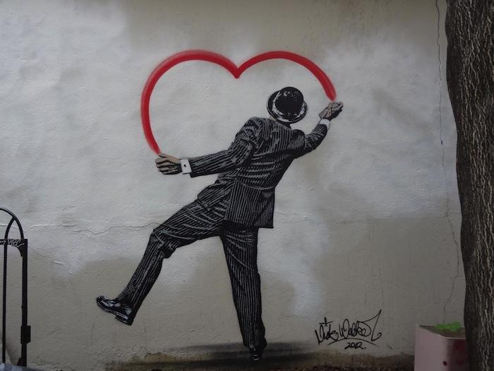 Street Art by Nick Walker – In Paris, France