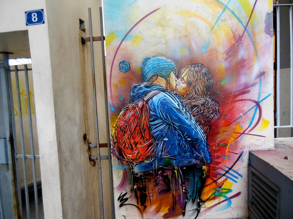 Street Art by C215 in Vitry-sur-Seine, France 9y4278