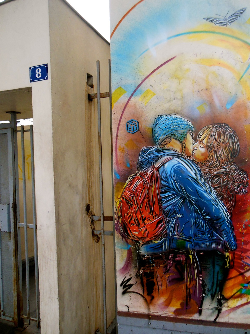 Street Art by C215 in Vitry-sur-Seine, France 9y4279