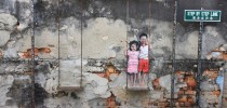 Street Art by Ernest Zacharevic in Penang, Malaysia 3462