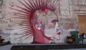 Street Art by Swampwood in Barcelona, Spain