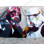 Street Art in Denver Colorado, USA