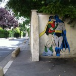 Batman and Robin kissing. By memeIRL in France 1