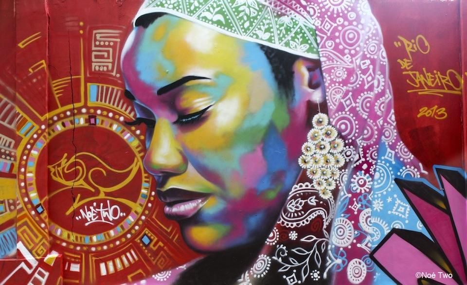 By NOE TWO in Favela VIDIGAL, Rio de Janeiro, Brazil