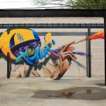 Graffiti by Chemis in Baton Rouge, Lousiana, USA
