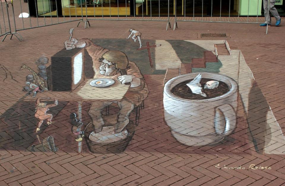 Street Art in 3D by Eduardo Relero 45756