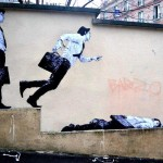 By Levalet in Paris, France