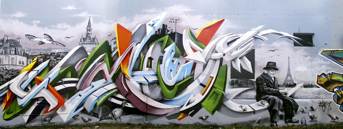 Graffiti by Smog-One 1