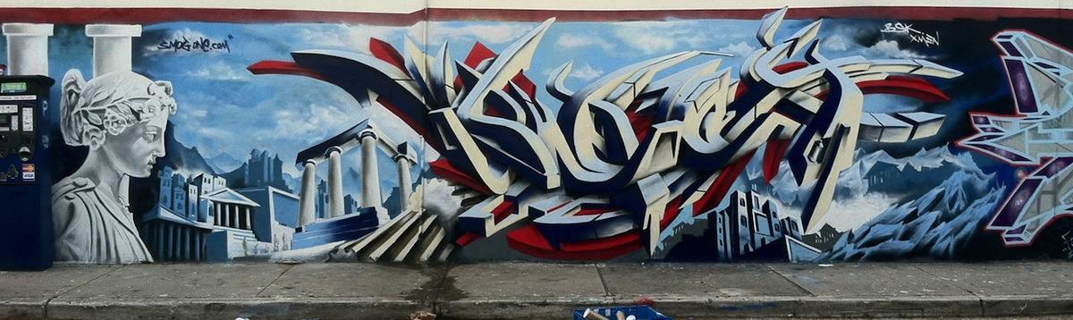 Graffiti by Smog-One 3