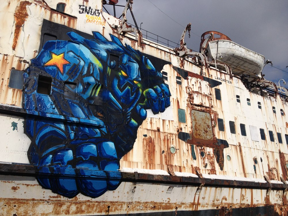 Graffiti by Snub23 at the Black Duke 1