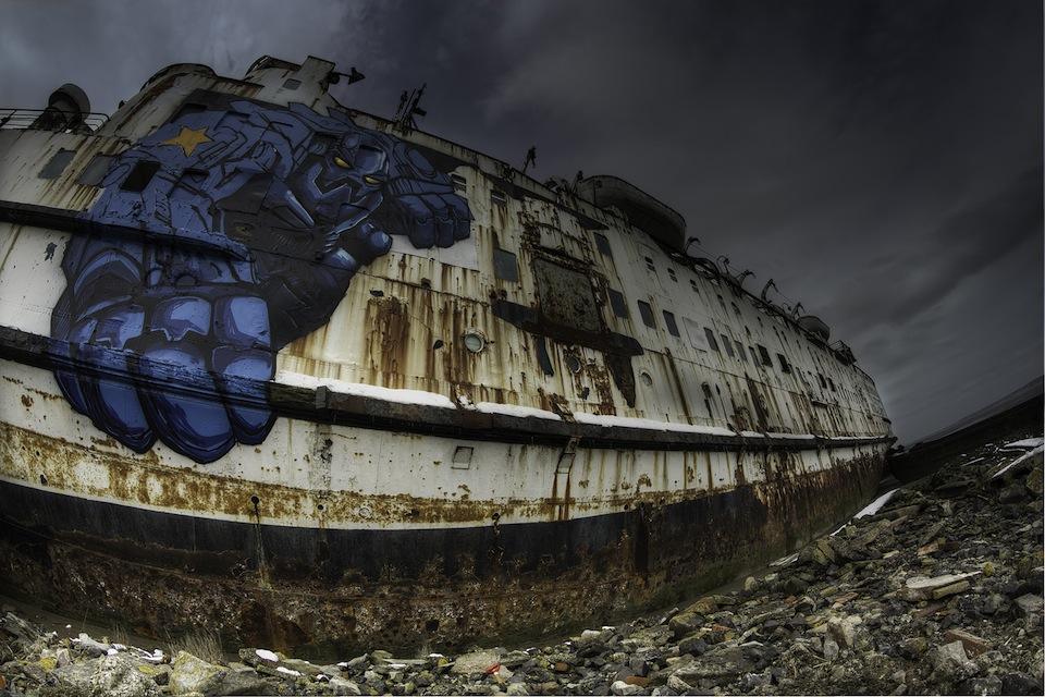 Graffiti by Snub23 at the Black Duke 2