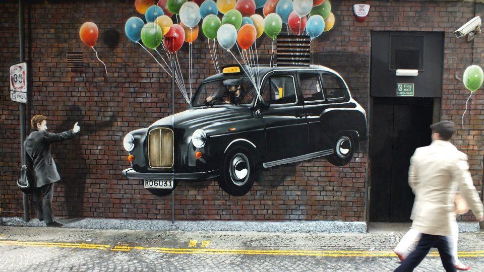 Street Art by Rogue-one in Glasgow, Scotland