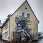 What Was Before Is In Us - Still. By Herakut in Freiburg, Germany 2