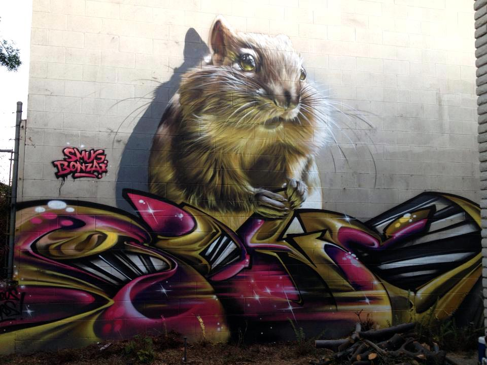 By Smug and Bonzai in Los Angeles, USA