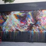 Street Art by David Walker in Paris, France