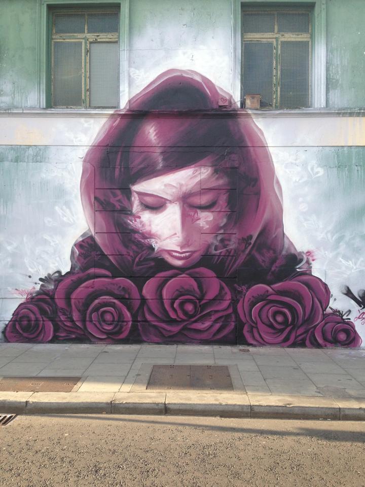 Street Art by Dermot McConaghy in Dublin, Ireland