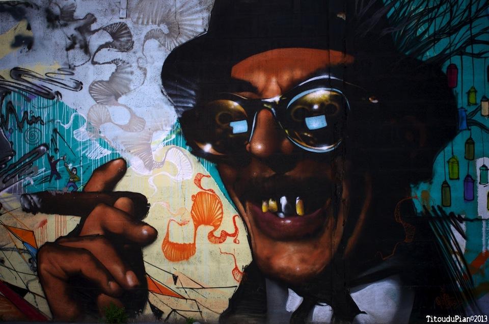 Street Art from Bacalan, Bordeaux, France