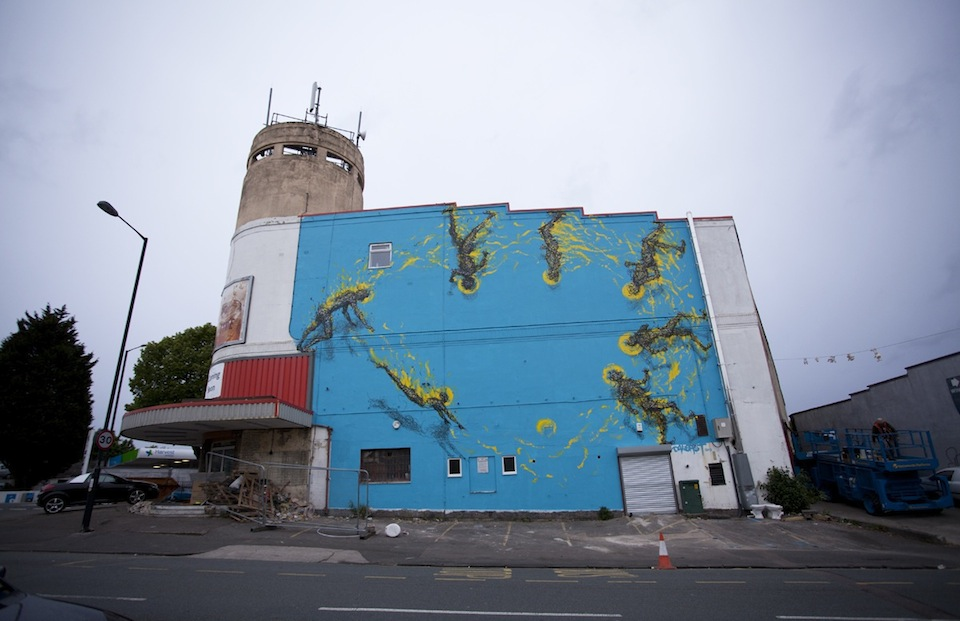 Street Art By DALeast in Bristol, UK 2