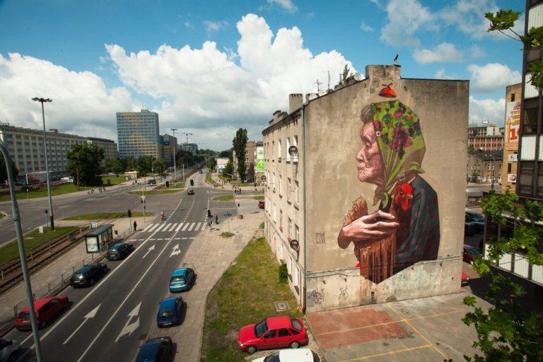 Street Art by ETAM CRU in Lodz, Poland